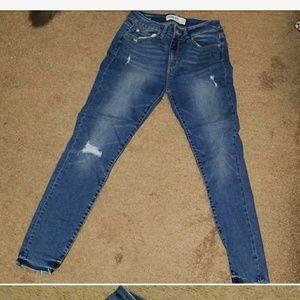 Fashion nova high waisted skinny jeans size 5